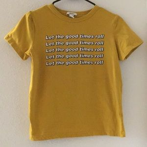 """""""Let the Good Times Roll"""" Tee"""